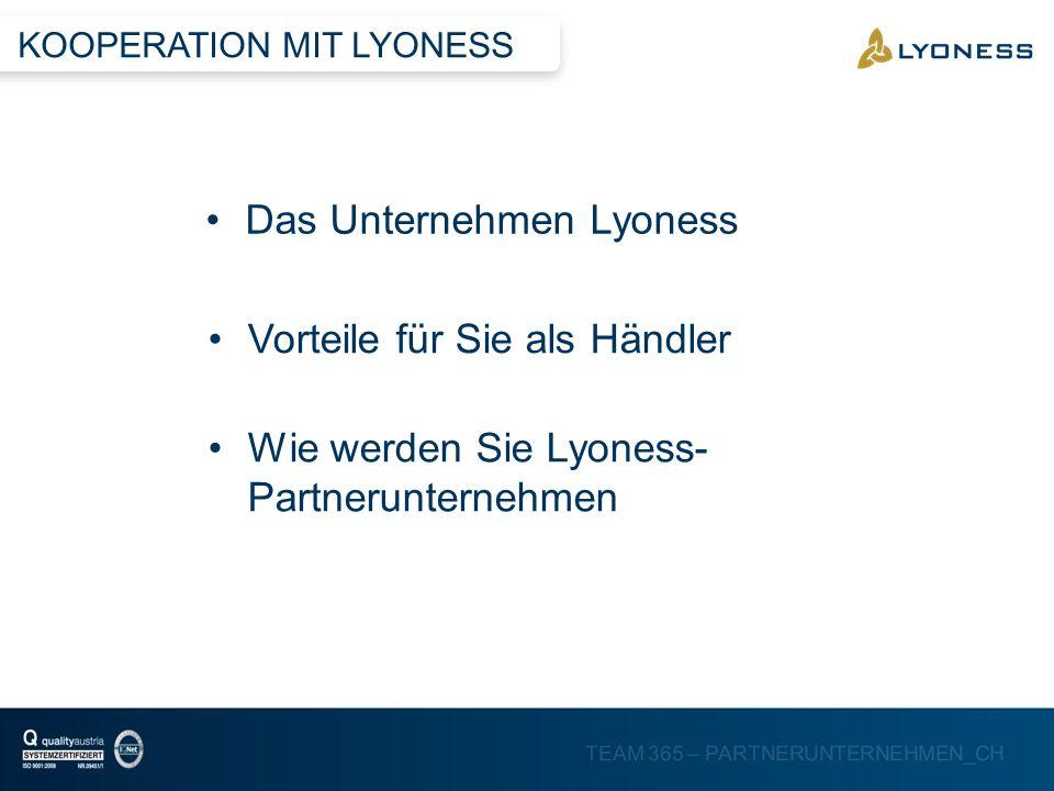 Das Unternehmen Lyoness
