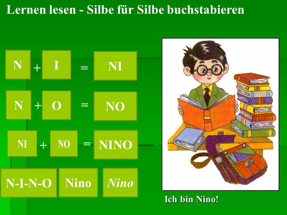 N NI NO NINO N-I-N-O Nino Nino