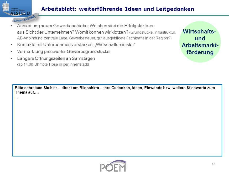 Großzügig Leitgedanke Details Arbeitsblatt Unterstützung ...