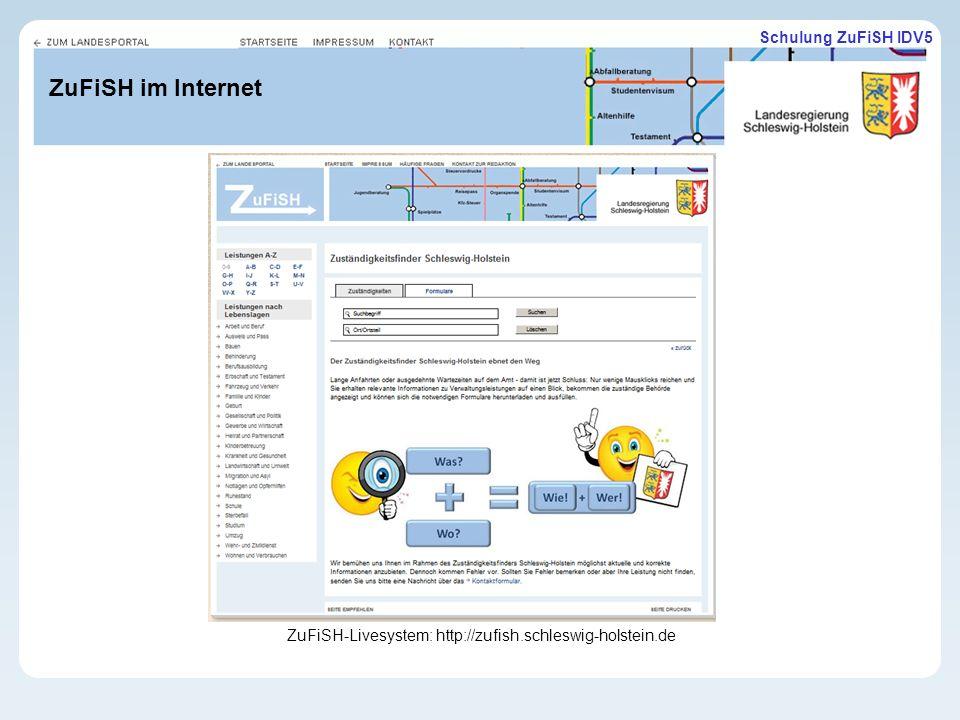 ZuFiSH-Livesystem: http://zufish.schleswig-holstein.de