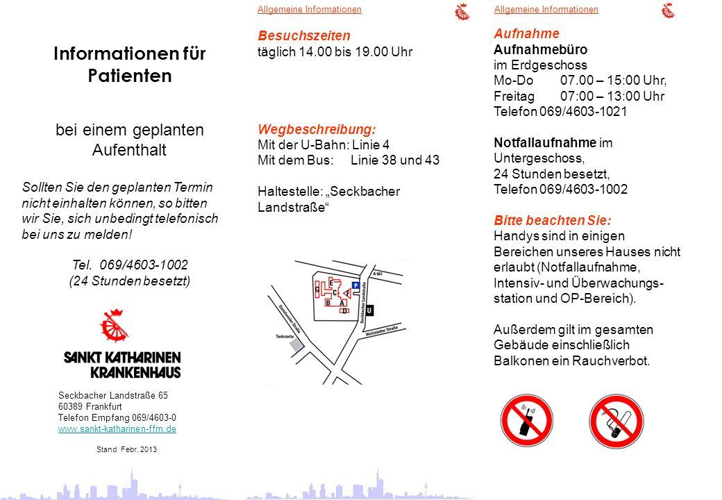 Informationen für Patienten