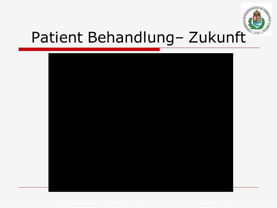 Patient Behandlung– Zukunft