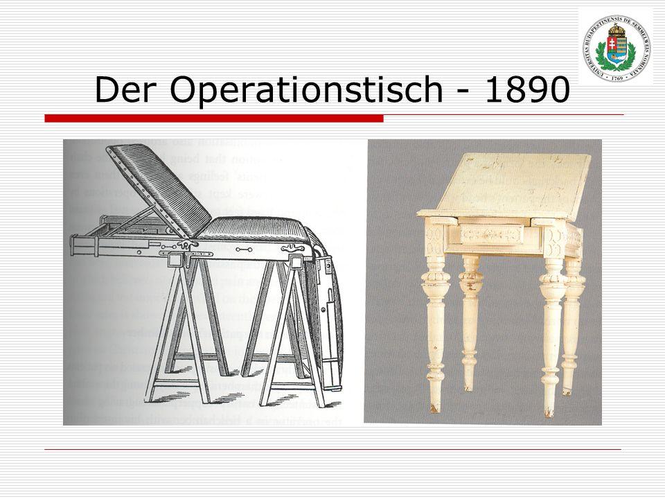Der Operationstisch - 1890