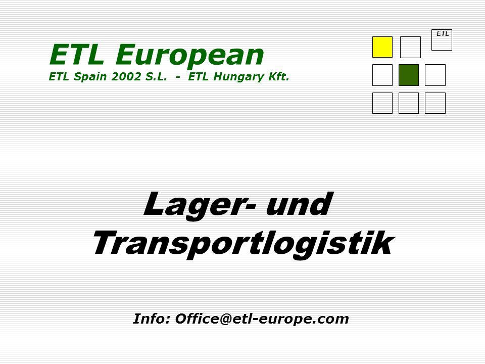 Lager- und Transportlogistik