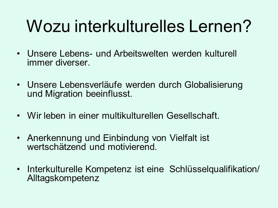 Wozu interkulturelles Lernen