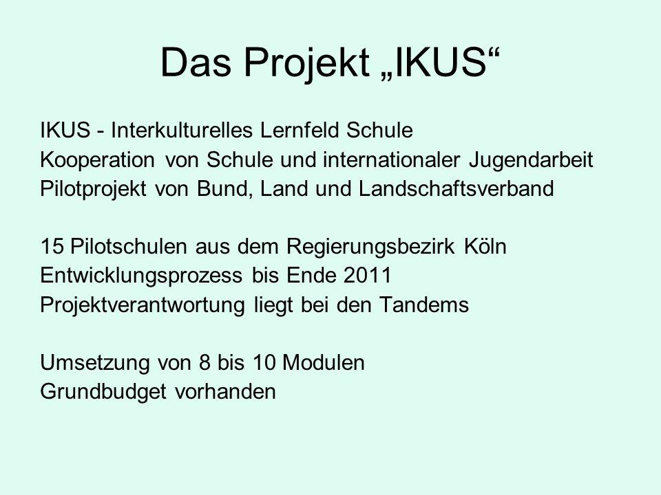 """Das Projekt """"IKUS IKUS - Interkulturelles Lernfeld Schule"""