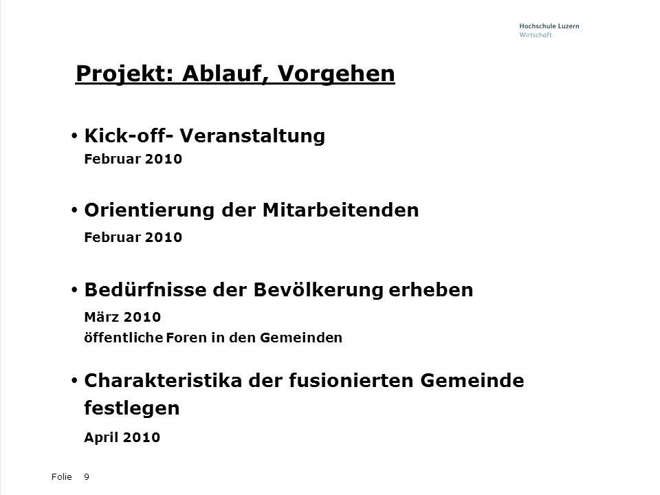 Projekt: Ablauf, Vorgehen