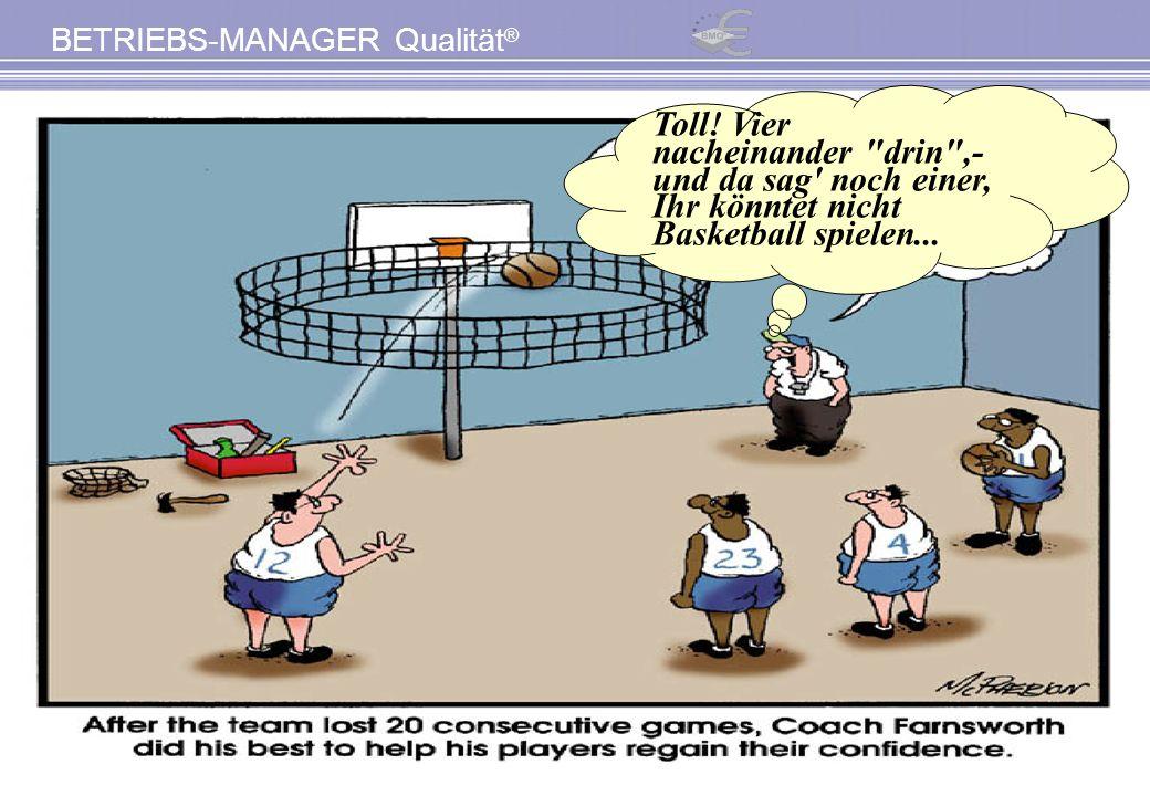 Toll! Vier nacheinander drin ,- und da sag noch einer, Ihr könntet nicht Basketball spielen...