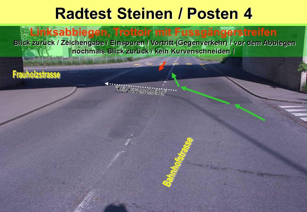 Radtest Steinen / Posten 4