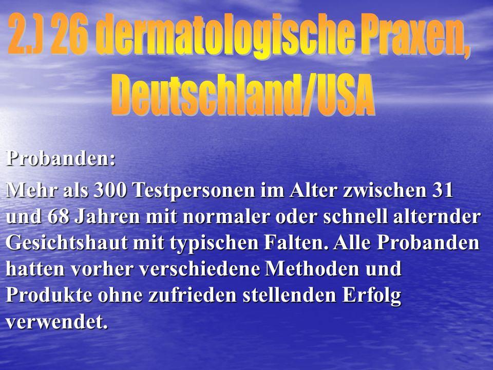 2.) 26 dermatologische Praxen,