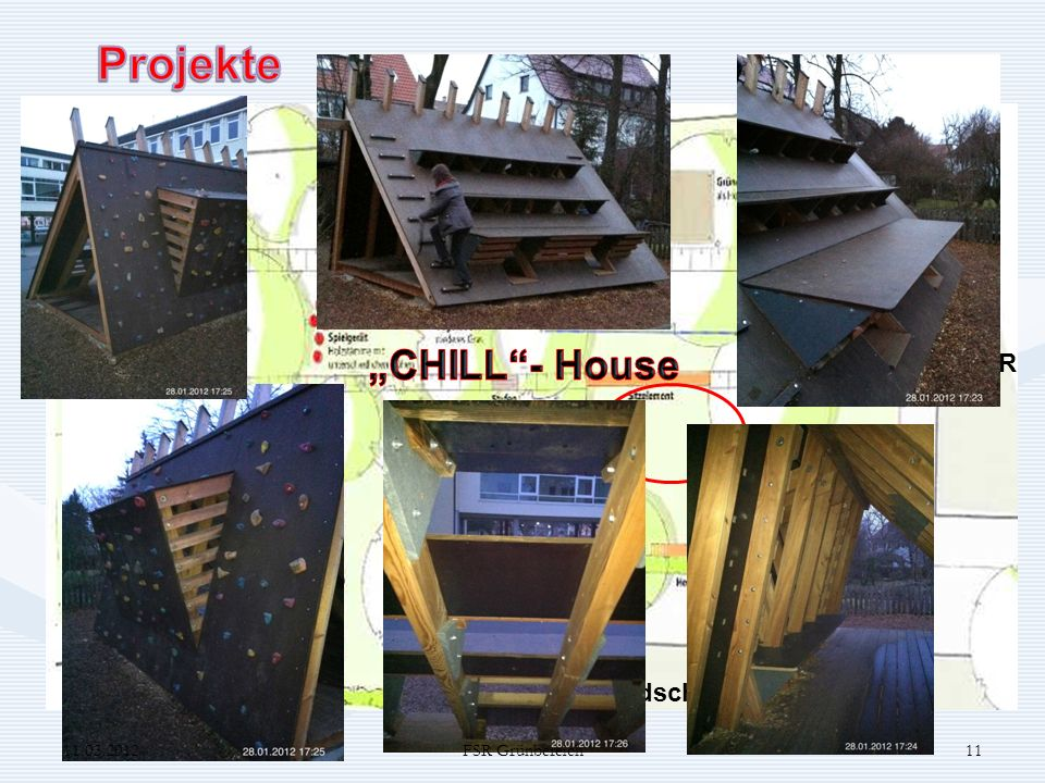 """Projekte """"CHILL - House Projekt 6 FSR Grundschule 11.03.2012"""