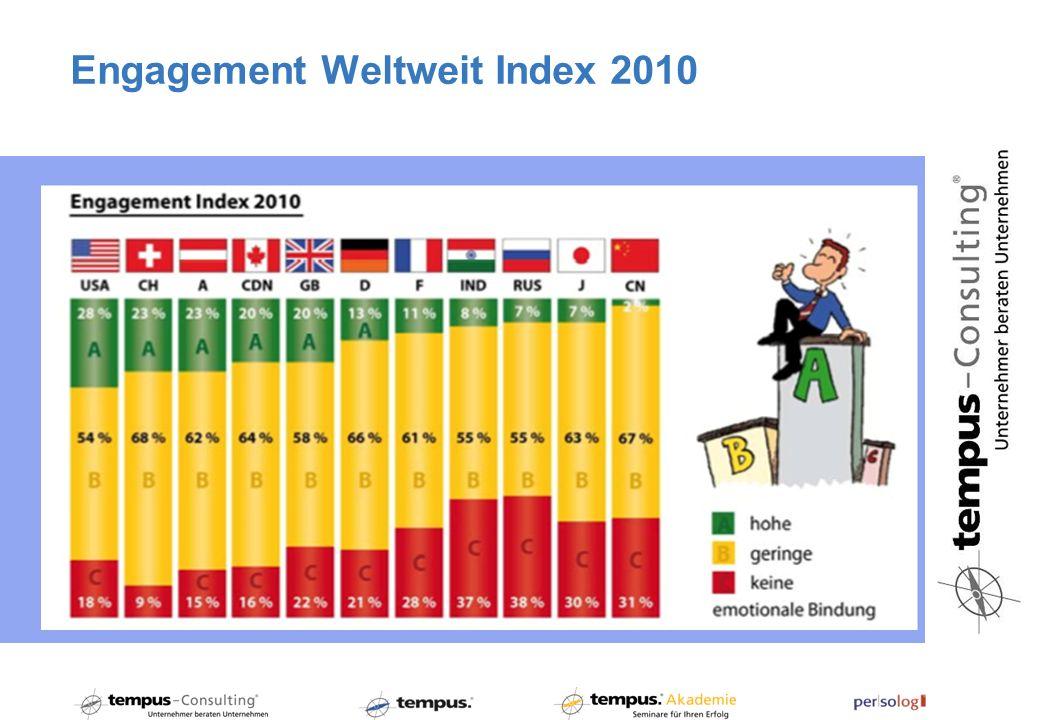 Engagement Weltweit Index 2010