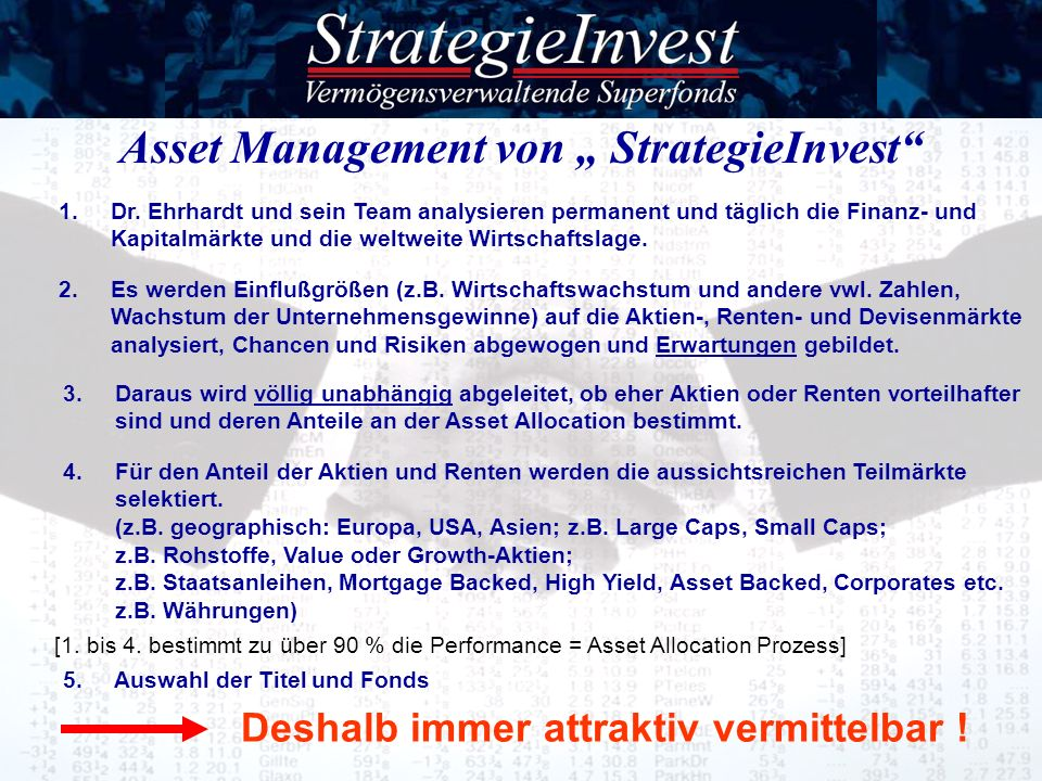 "Asset Management von "" StrategieInvest"