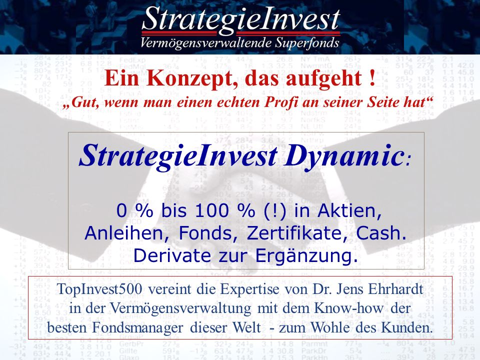 StrategieInvest Dynamic: