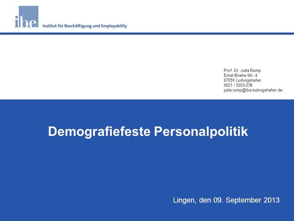 Demografiefeste Personalpolitik