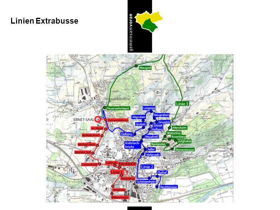 Linien Extrabusse