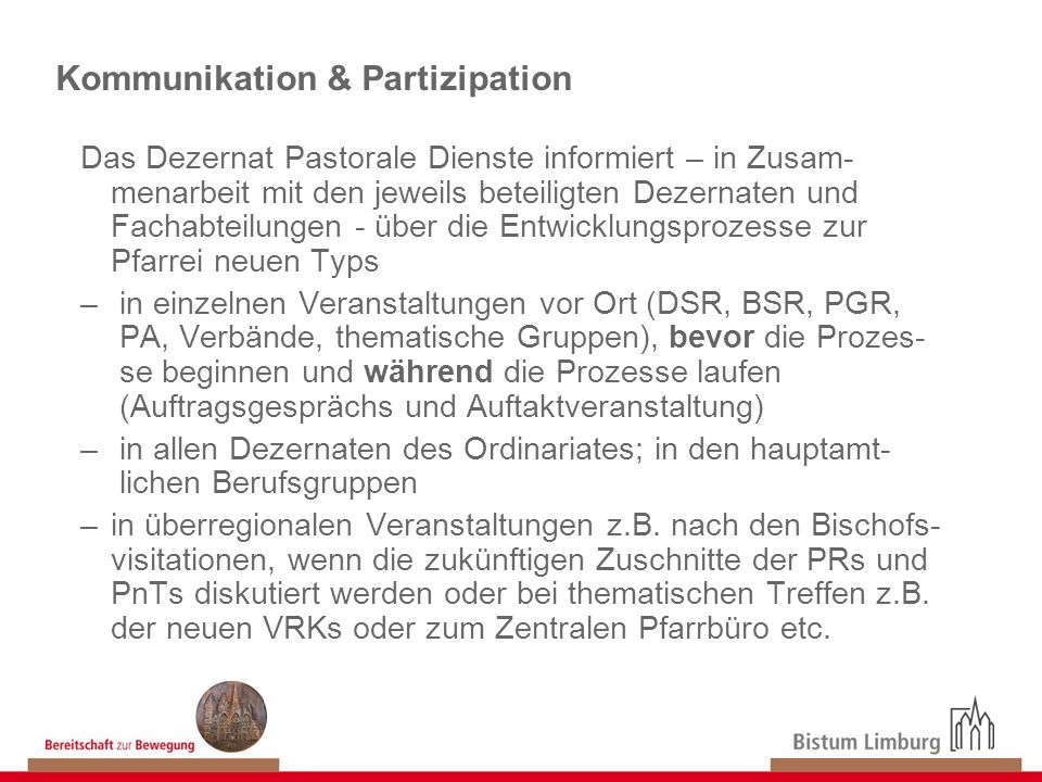 Kommunikation & Partizipation