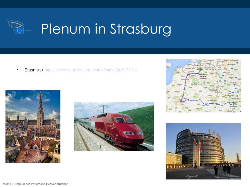 Plenum in Strasburg Erasmus+ https://www.youtube.com/watch v=AsSjg61FHHw