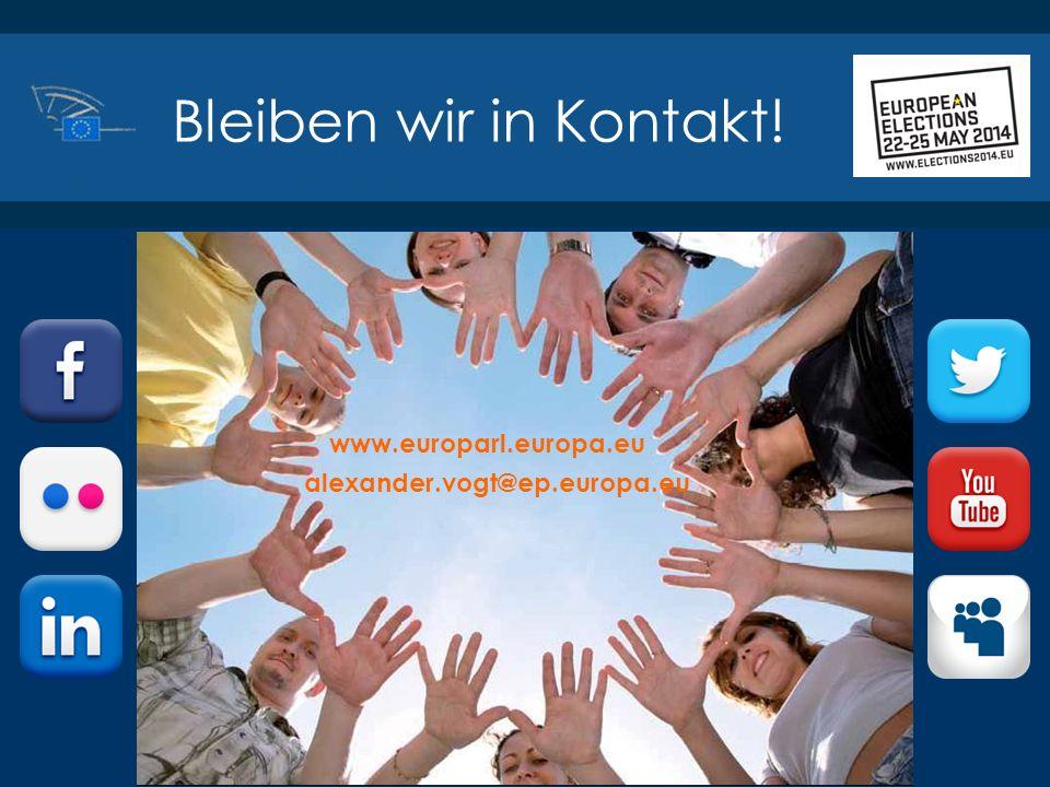 Bleiben wir in Kontakt! www.europarl.europa.eu