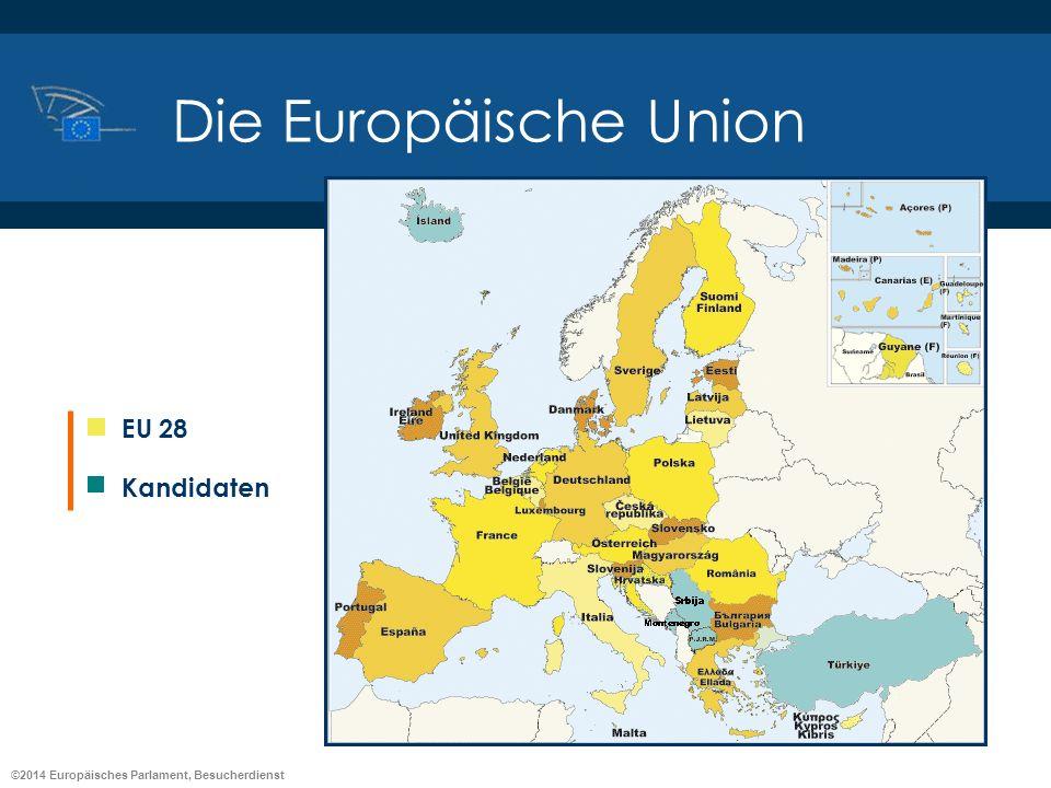 Die Europäische Union EU 28 Kandidaten