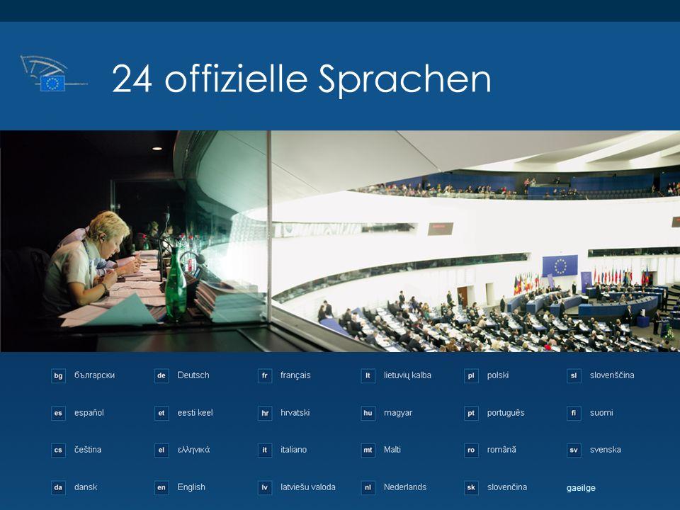 24 offizielle Sprachen gaeilge