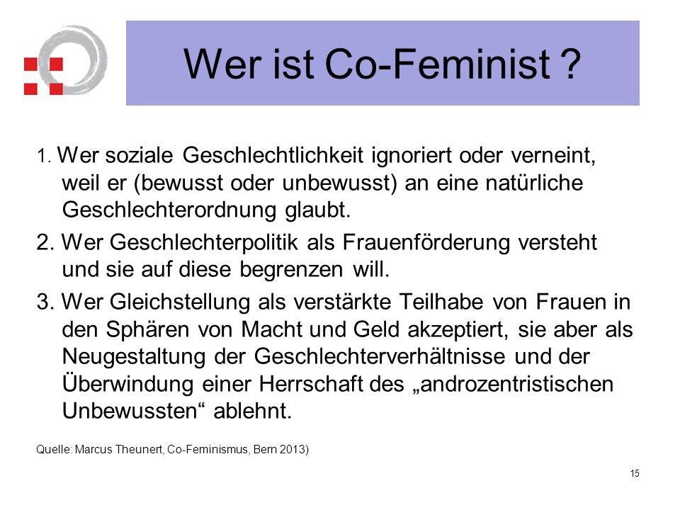 Wer ist Co-Feminist