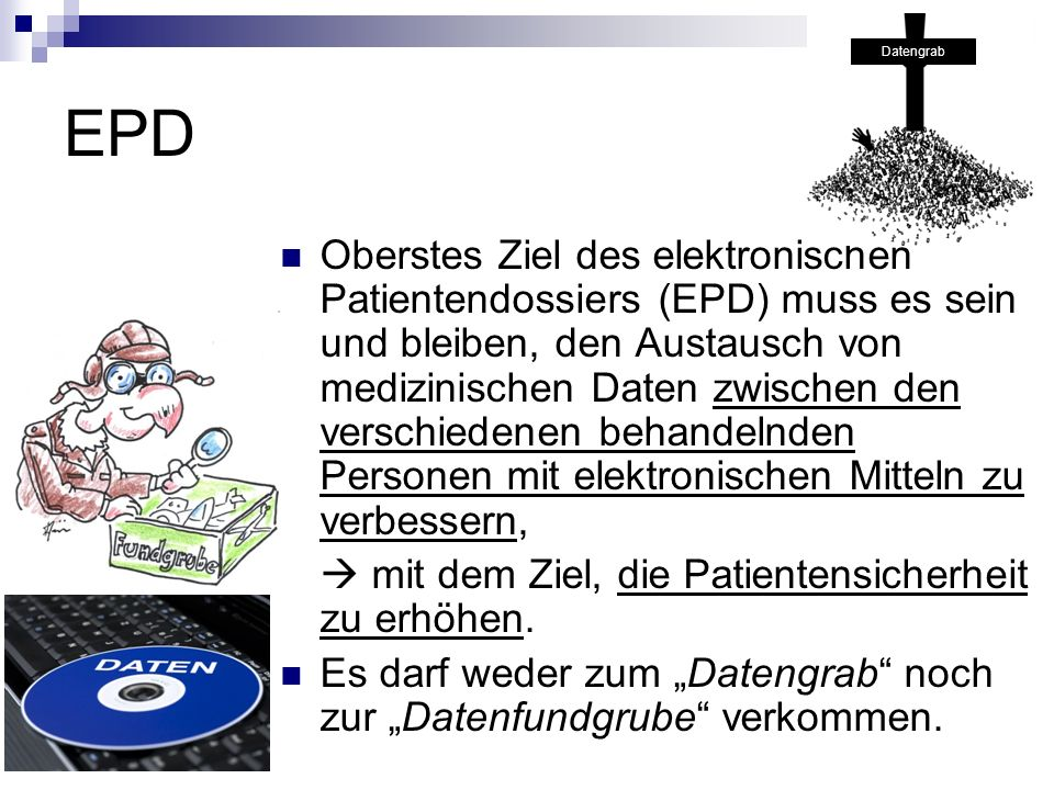 Datengrab EPD.