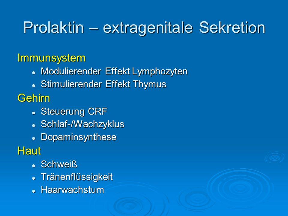 Prolaktin – extragenitale Sekretion