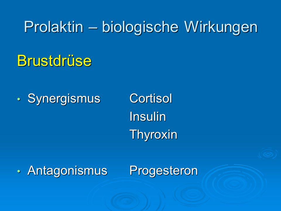 Prolaktin – biologische Wirkungen