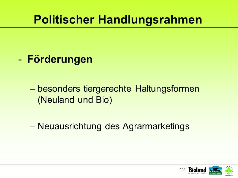 Politischer Handlungsrahmen