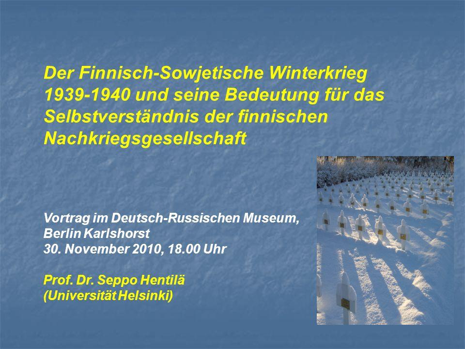 Der Finnisch-Sowjetische Winterkrieg