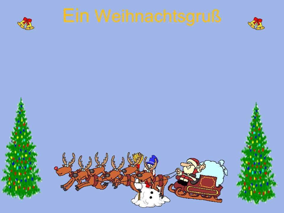 Ein Weihnachtsgruß