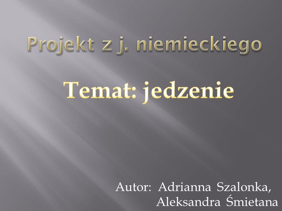 Projekt z j. niemieckiego