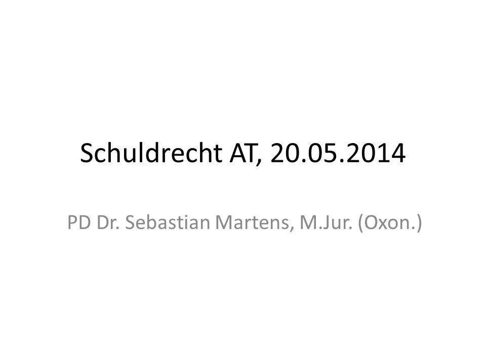 PD Dr. Sebastian Martens, M.Jur. (Oxon.)