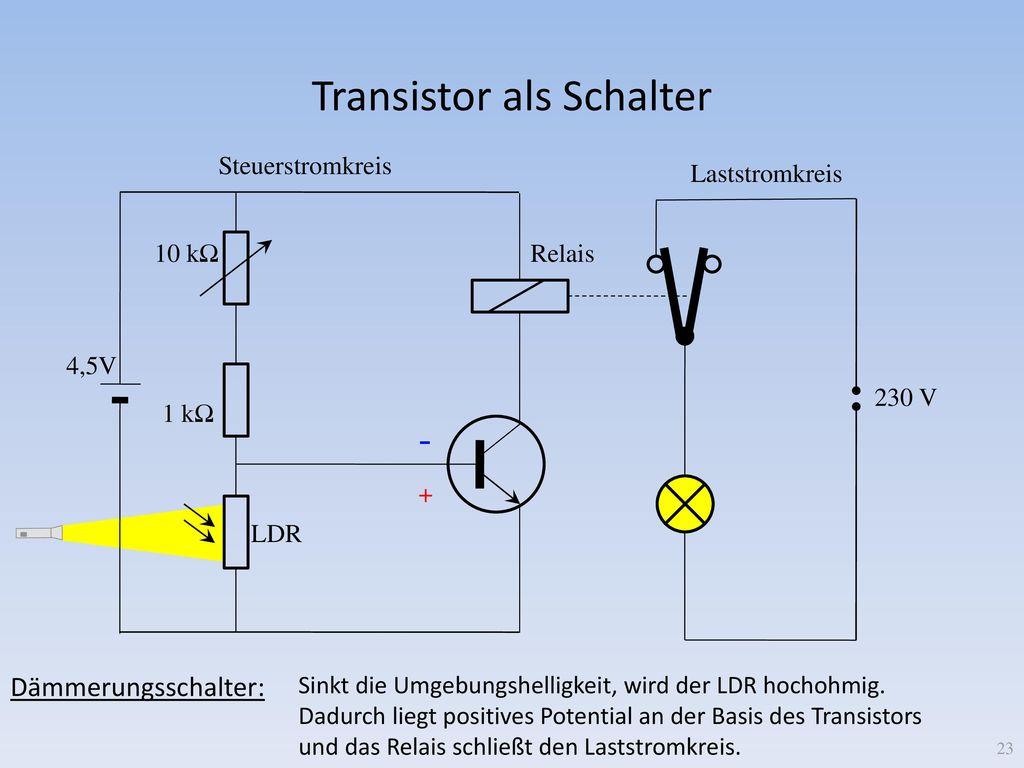 Fantastisch Lichtaktivierter Schalter Mit Ldr Bilder - Die Besten ...
