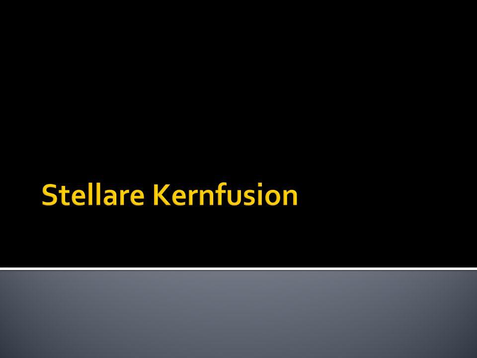 Stellare Kernfusion