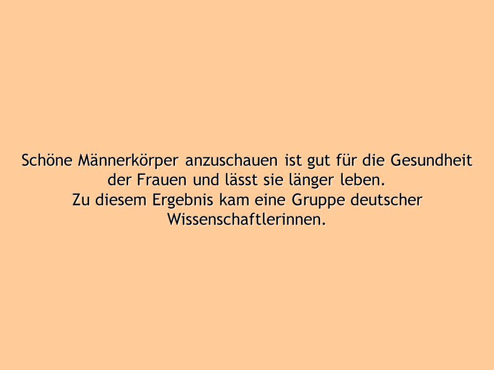 Zu diesem Ergebnis kam eine Gruppe deutscher Wissenschaftlerinnen.