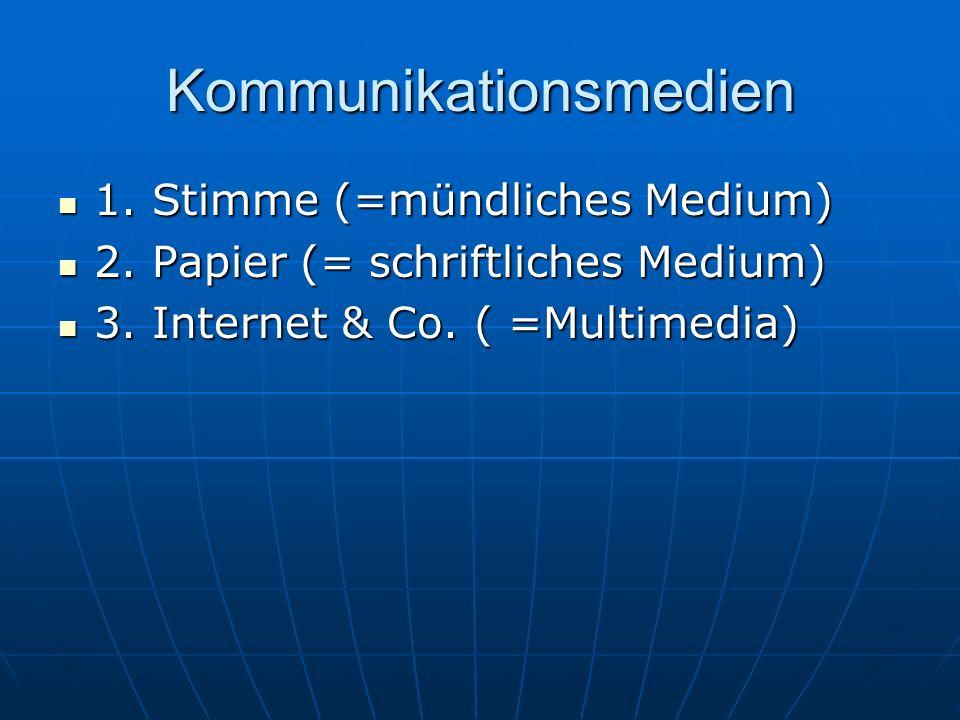 Kommunikationsmedien