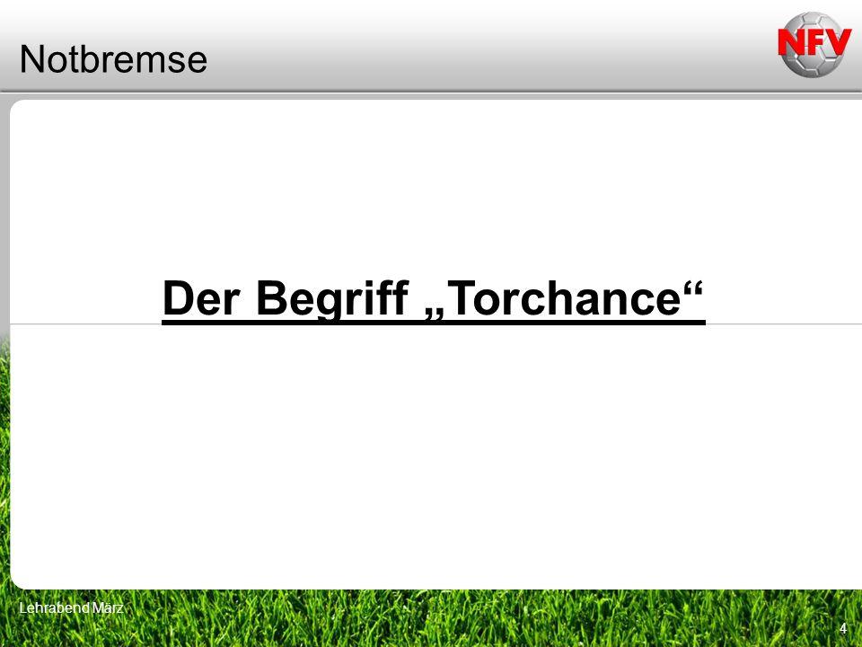"""Der Begriff """"Torchance"""