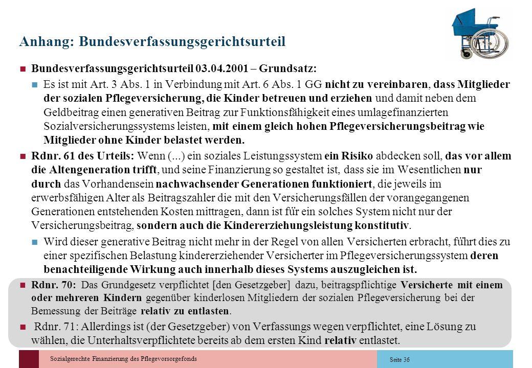 Anhang: Bundesverfassungsgerichtsurteil