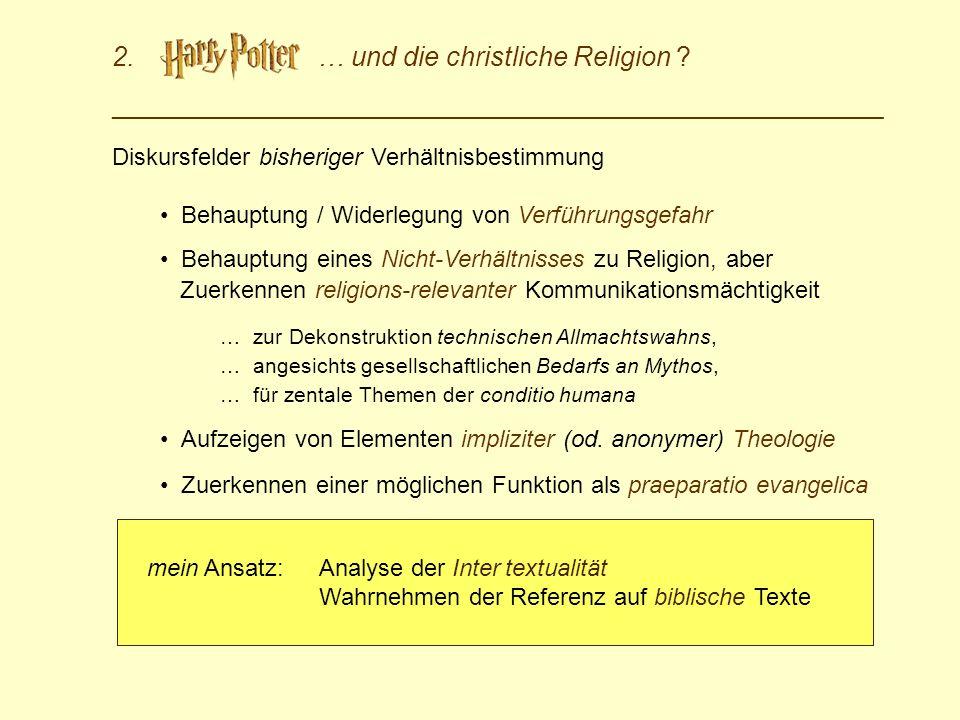 2. … und die christliche Religion