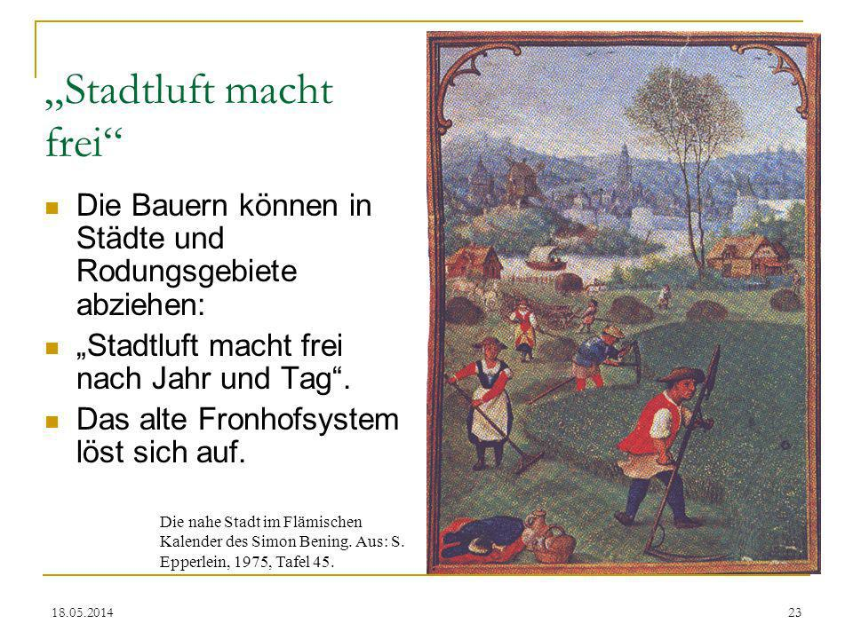 """Stadtluft macht frei"