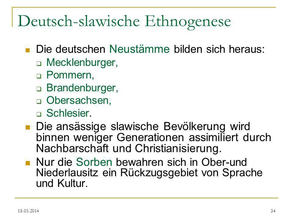 Deutsch-slawische Ethnogenese