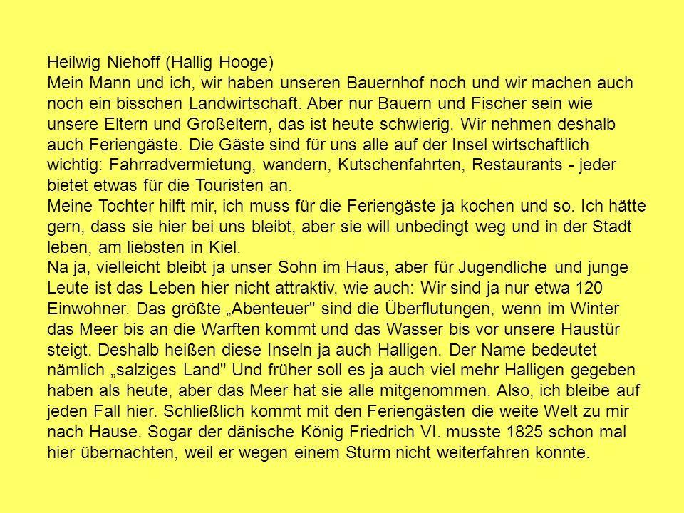 Heilwig Niehoff (Hallig Hooge)