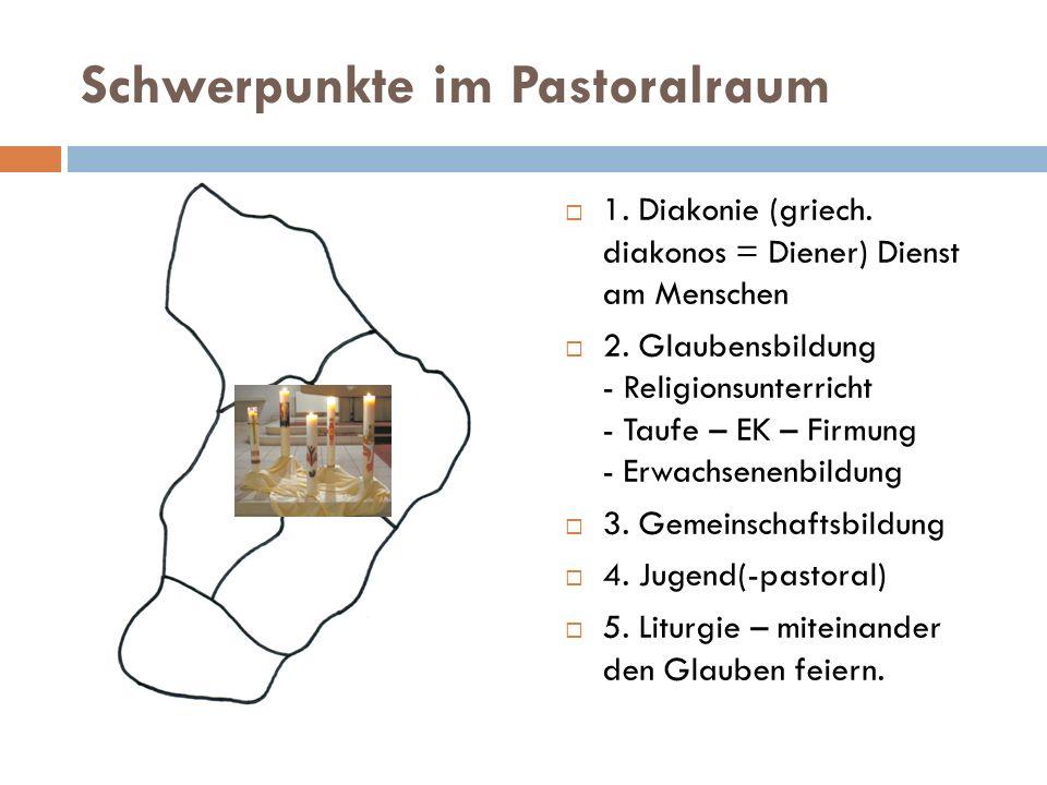 Schwerpunkte im Pastoralraum