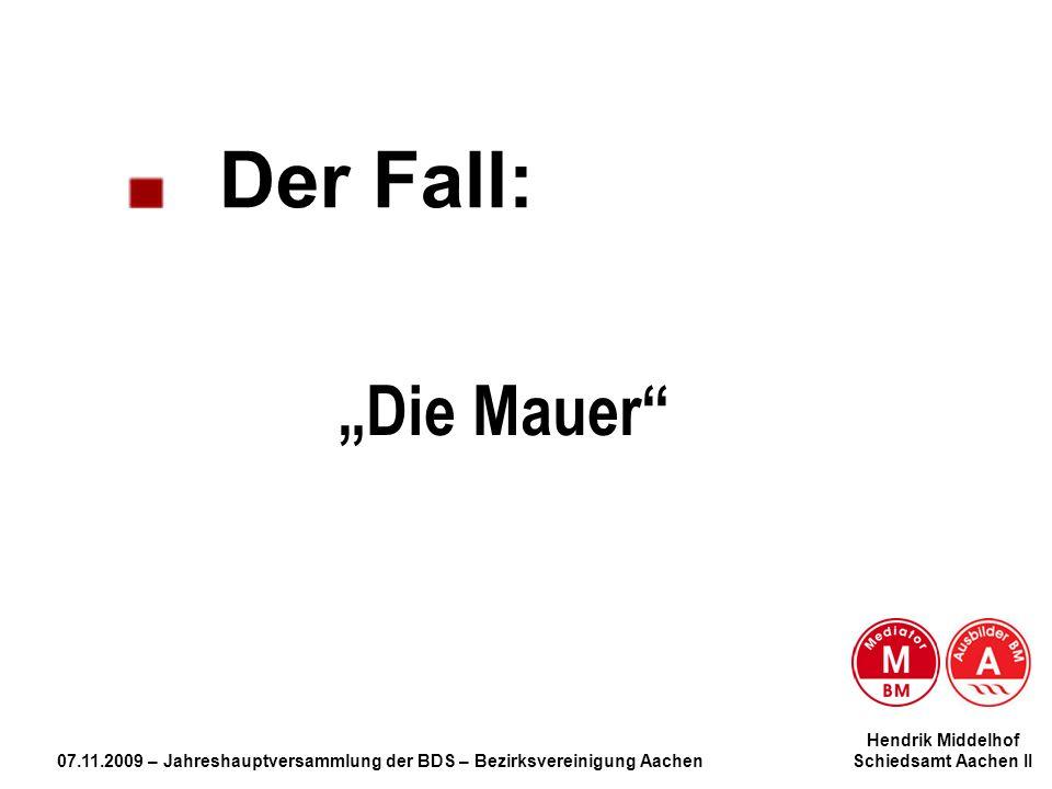 """Die Mauer Der Fall: Hendrik Middelhof"
