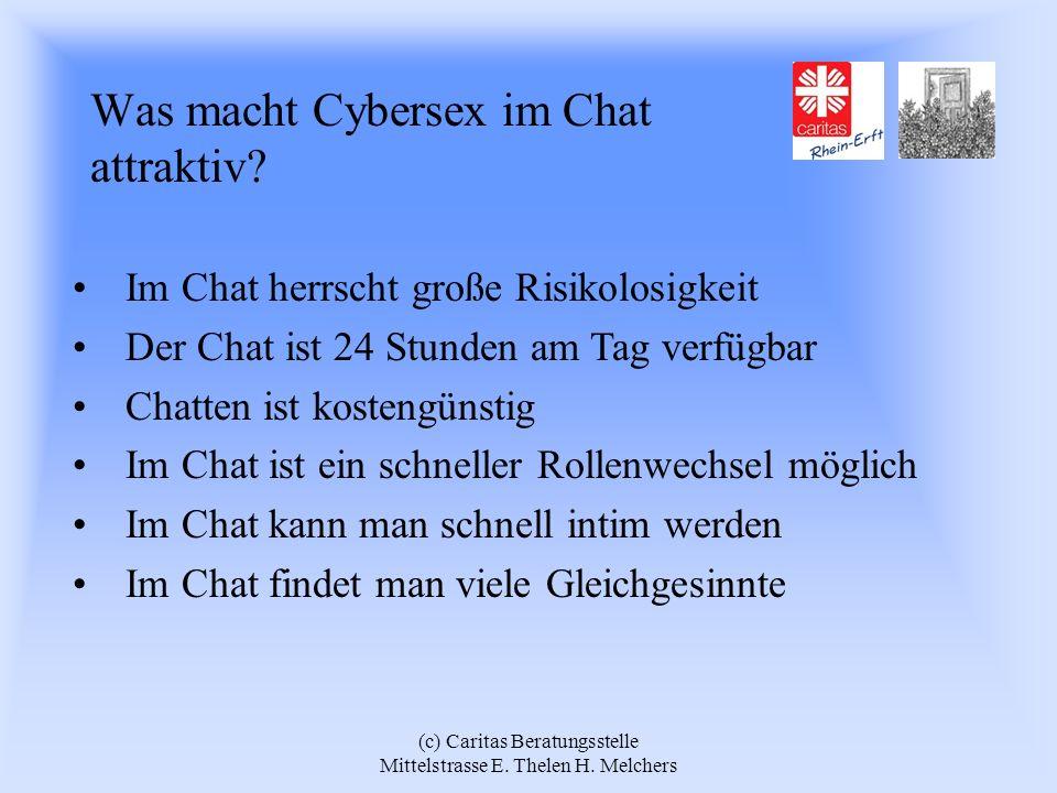 Was macht Cybersex im Chat attraktiv