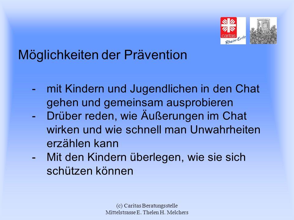Möglichkeiten der Prävention