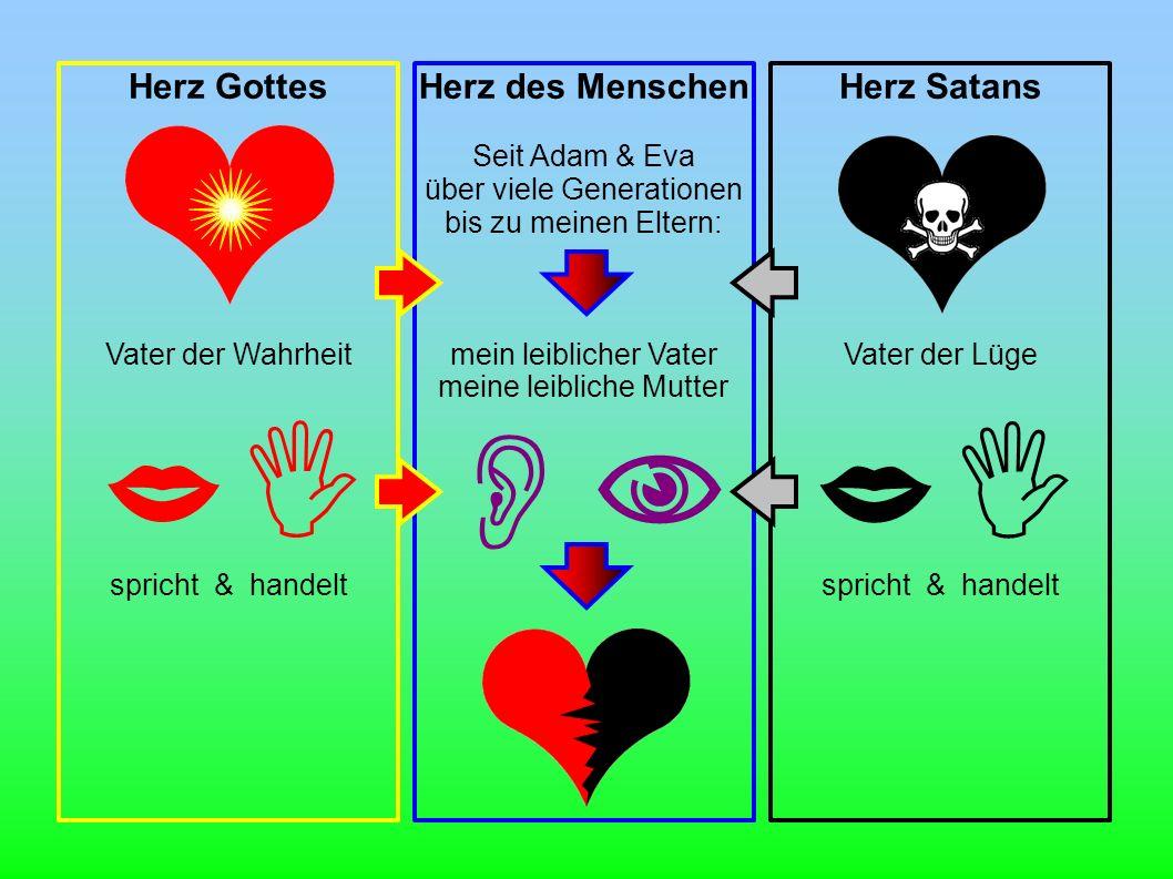    Herz Gottes Herz des Menschen Herz Satans Vater der Wahrheit