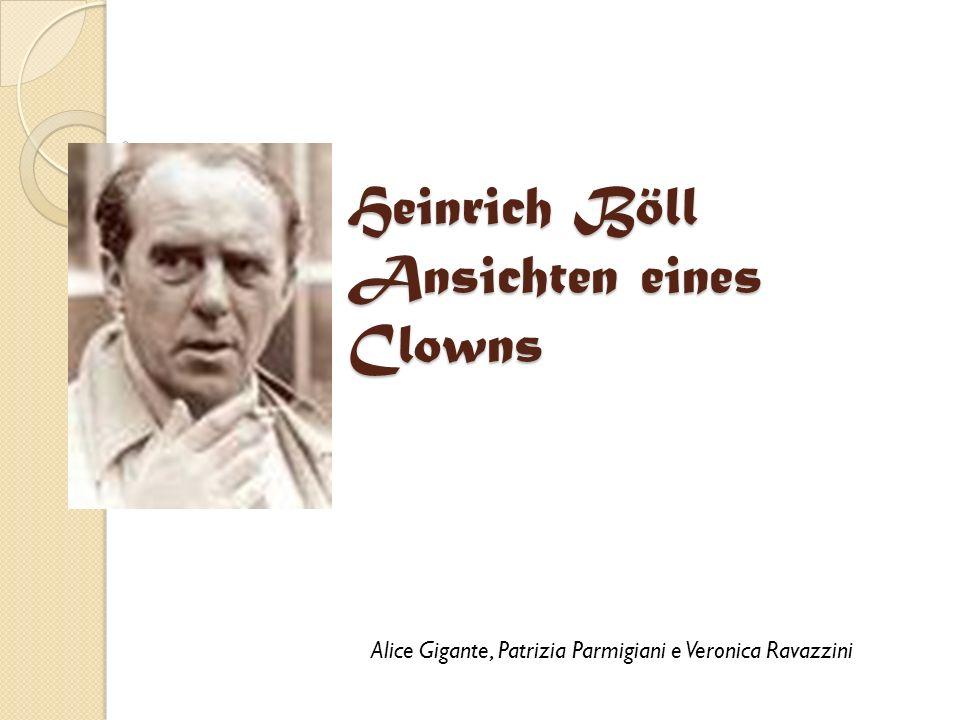 Heinrich Böll Ansichten eines Clowns